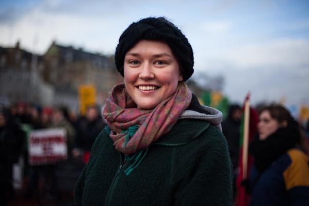 Soline : « rien n'a été fait pour le climat depuis longtemps ». Photo : Claire Duhamel.