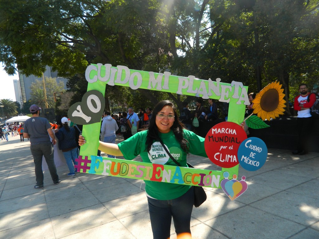"""María Elena : """"Je prends soins de la Terre"""". Photo : Pamela Bazan."""