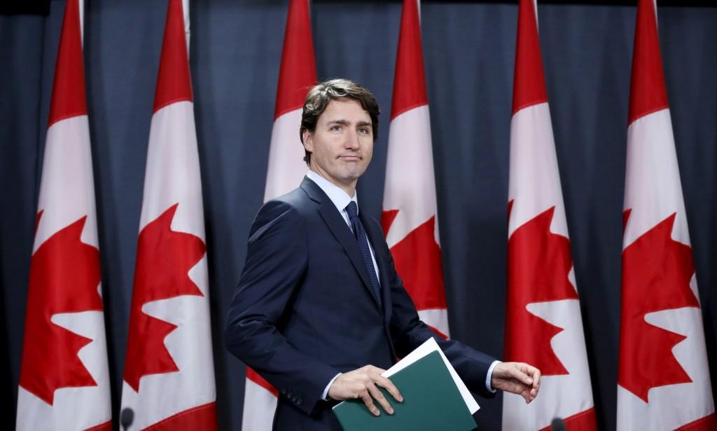 Justin Trudeau, Premier Ministre canadien