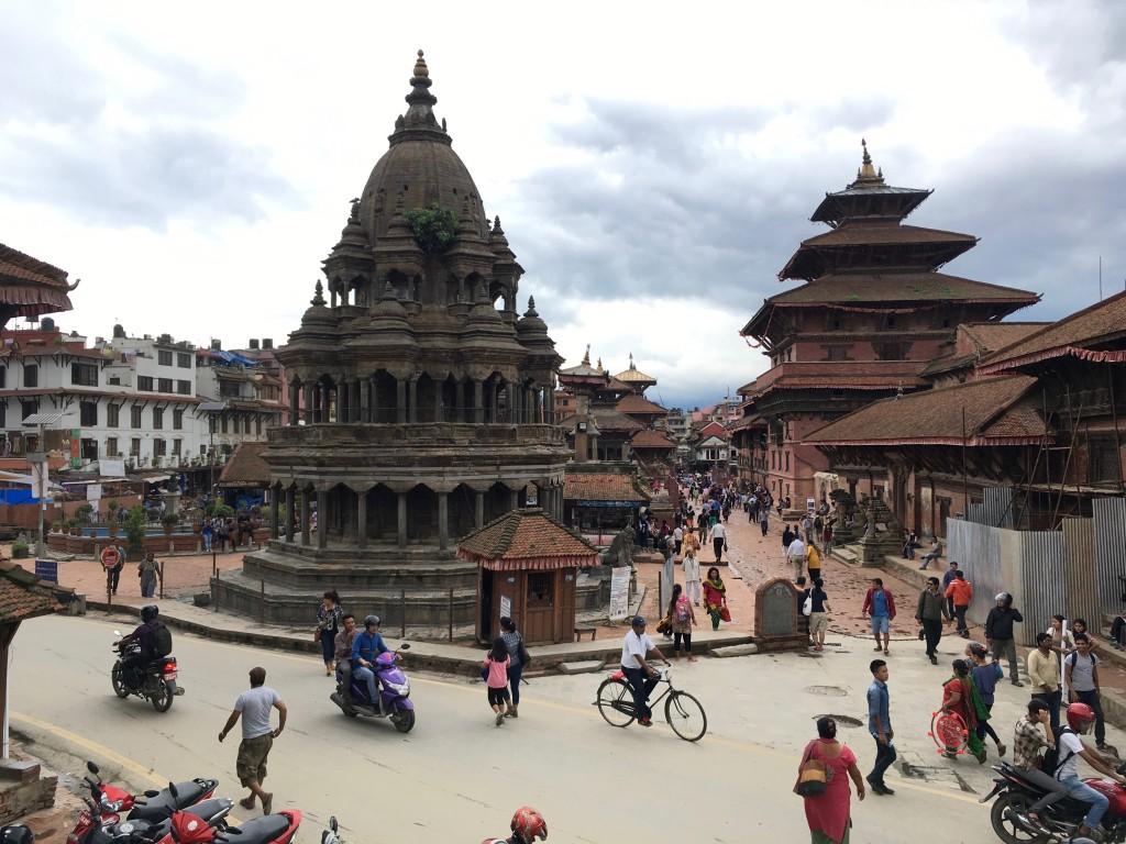 Les monuments historiques du Durbar Square de Patan sont classés au Patrimoine mondial de l'UNESCO. © Lucas Scaltritti