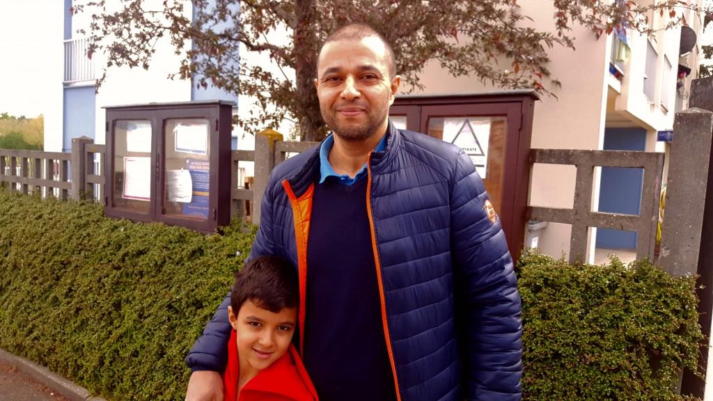 Hicham et son fils